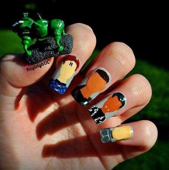 Red Dwarf nails