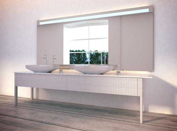 Die besten 25+ Badspiegel nach maß Ideen auf Pinterest Spiegel - badezimmerspiegel nach mass