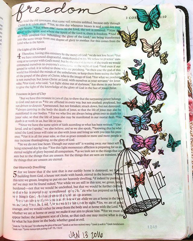 2 Corinthians 3:17 Lindsey Hopkins @linhopart Instagram photos   Websta