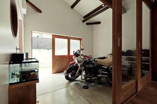 木造平屋にバイクと暮らす! リノベ事例レポート@都島  - A&Cnews アートアンドクラフトのニュース