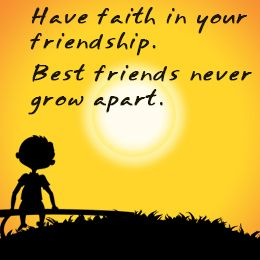 Image result for faith on ur friend quotes