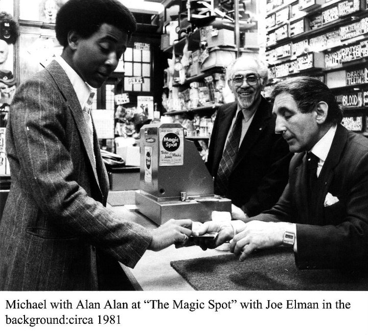 Michael Vincent, with Joe Elman and Alan Alan. Michael is one of the best magicians I have seen. Even at just 18 years old.