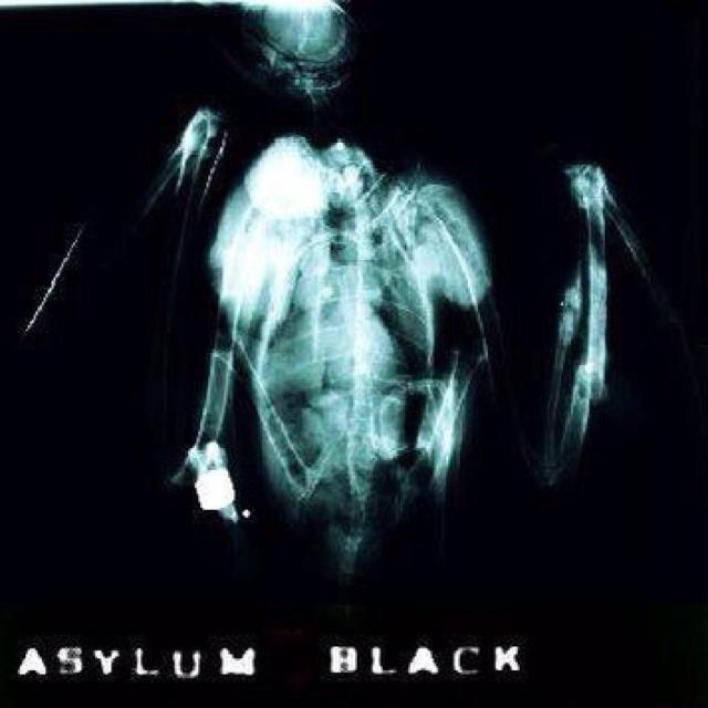 Asylum Black - God Is Muted demo artwork