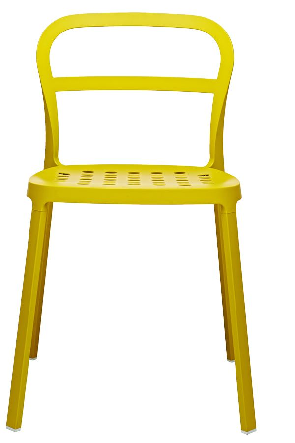 This chair is durable and can work just as well outdoors as indoors.