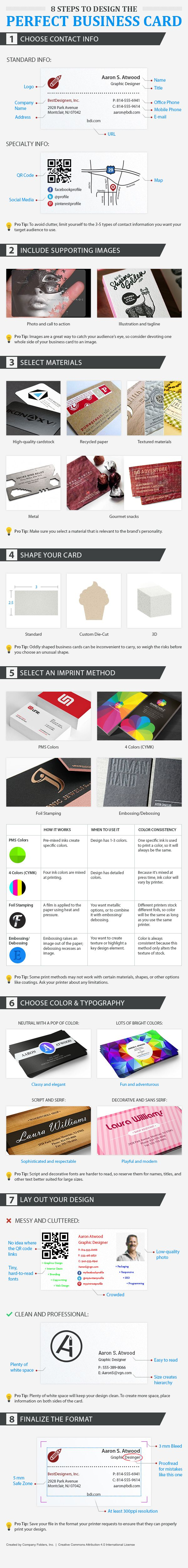 8 Pro Tips To Design The Perfect Business Card