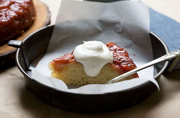 Sour Plus Brown Butter Upside Down Cake from A Cozy Kitchen