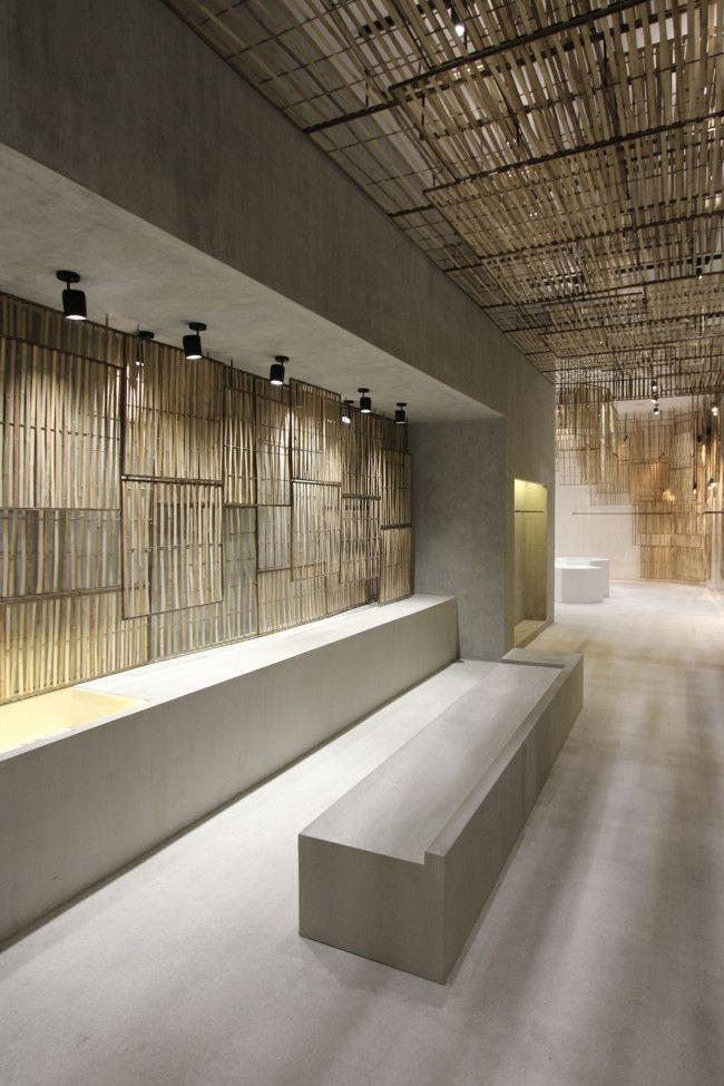 Isabel Marant store Bangkok, by studio Ciguë