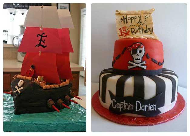 παιδικό πάρτυ πειρατή τούρτες 2