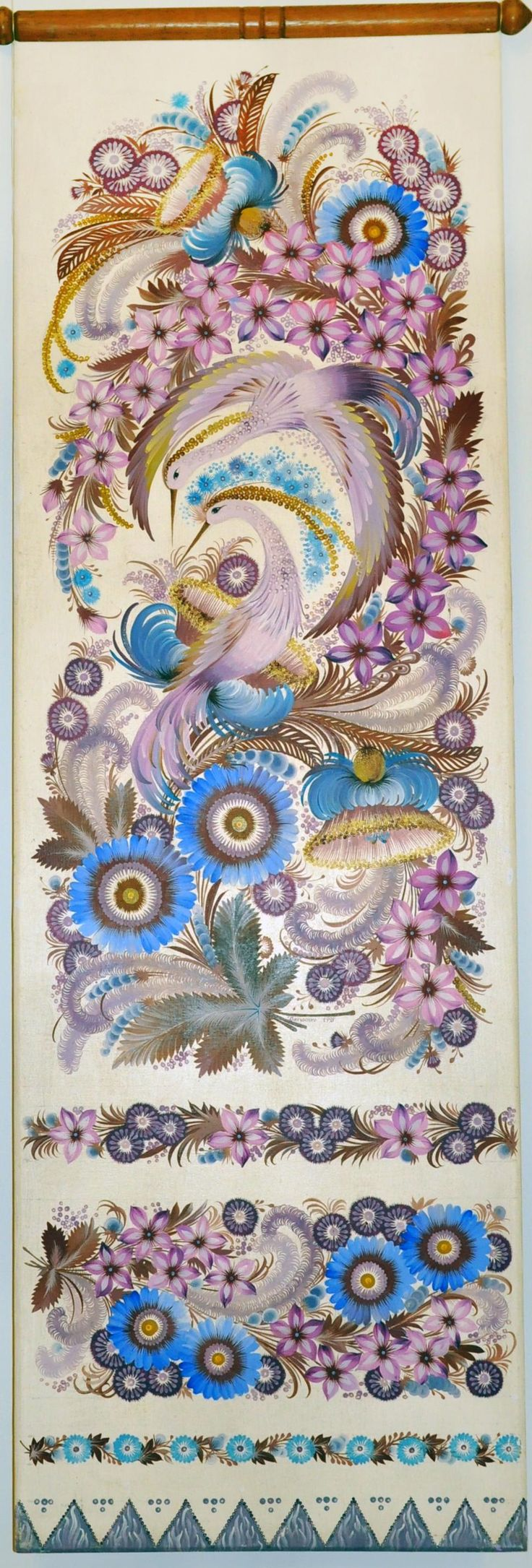Декоративний розпис - Поиск в Google Petrykivka (Ukrainian folk art)