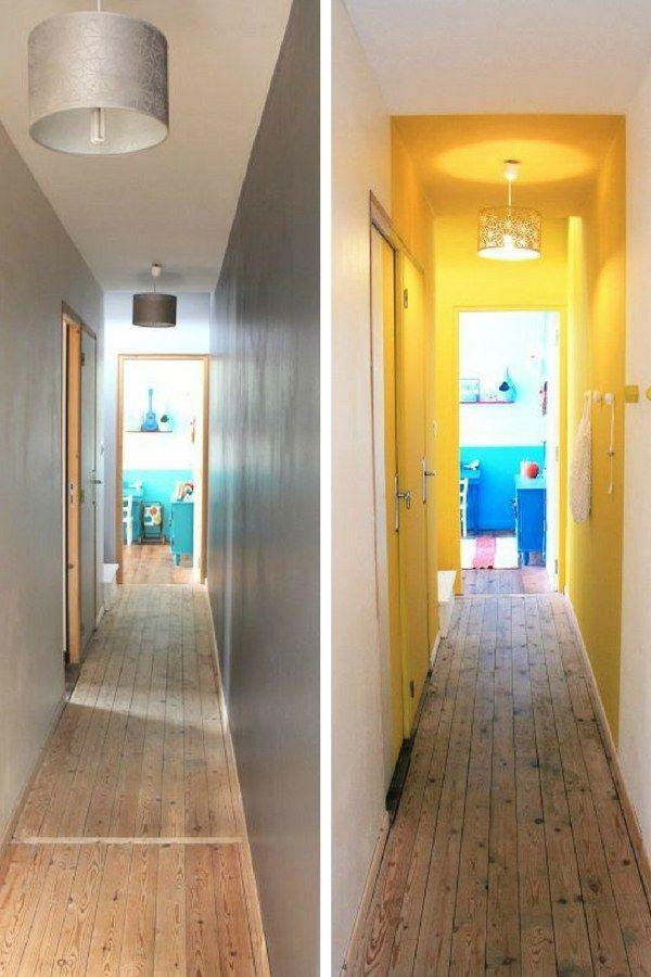 Les 25 meilleures id es de la cat gorie couloirs troits sur pinterest d co - Decorer un couloir etroit ...