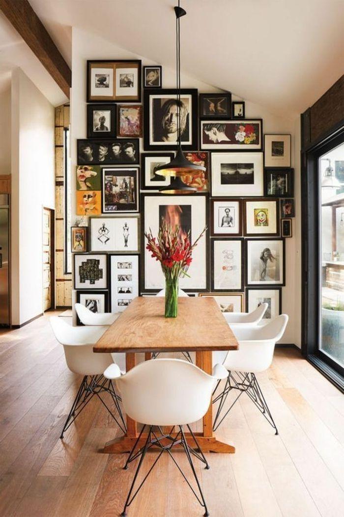 1001+ Ideen für Bilder fürs Wohnzimmer, die stylisch und modern sind   Esszimmer wanddekoration ...