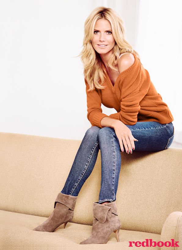 Aside from being a successful runway model, and reality television star, Heidi Klum is also a single mom of four with a clear-eyed work ethic. Find out how she's inspiring us at redbookmag.com