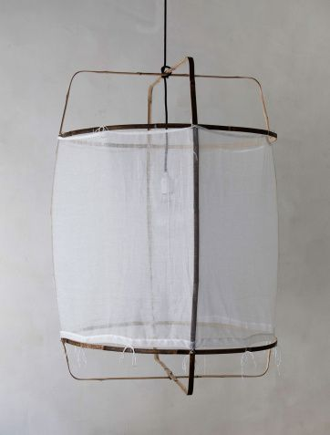 Ay Illuminate Z1 Cotton lamp at Artilleriet: the designers are inspired by both nature and different cultures which is reflected in their use of organic shapes and natural (waste) materials combined with local handicraft expertise. 3795KR