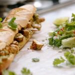 Jamie Oliver Mexican club sandwich with chicken and  guacamole recipe on Jamie's 15 Minutes Meals