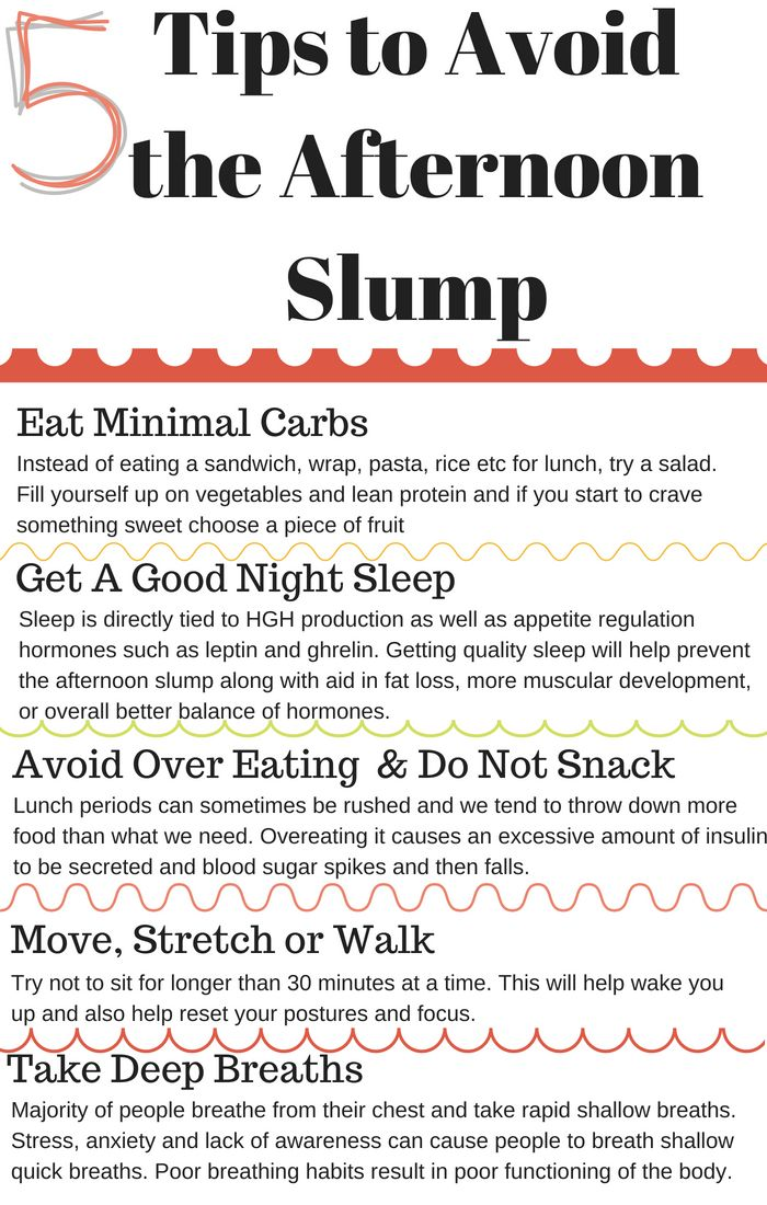 Afternoon Slump Healthy Tips To Avoid It Self Mastery Duo Healthy Tips Tips How To Stay Awake
