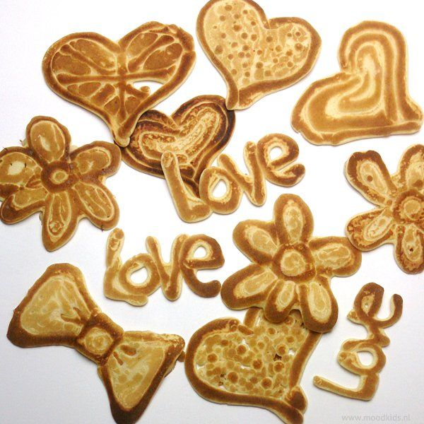 Zo maak je zelf Pancake art beslag en lukt het altijd! | Moodkids