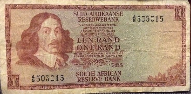 South African Currency 1 Rand
