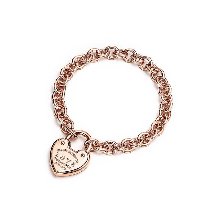 Return to Tiffany™:Love Lock Bracelet