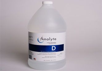 Nature Unleashed - 128oz - EPA Approved  Kills to the Core...Germs, Virus and Bacteria... Naturally!    Anolyte D™ meets AOAC efficacy testing requirements for hospital disinfection.    Meets OSHA Bloodborne Pathogen Guidelines.     Benefits  Disinfects and deodorizes by killing the bacteria that causes odors  Kills multiple drug resistant bacterium  Kills viruses and bacteria  Kills H1N1 Swine influenza virus  Kills Staphylococcus aureus (MRSA) and Salmonella enterica  Kills ...