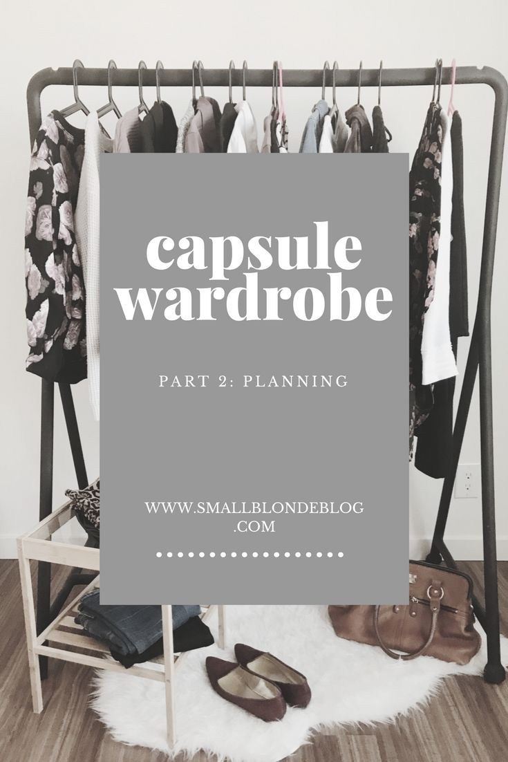 How to plan out your capsule wardrobe + a handy worksheet! // www.smallblondeblog.com
