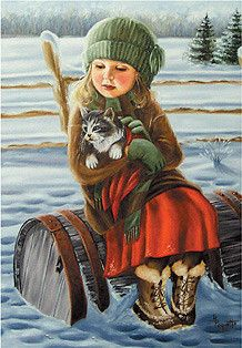 Ginette Paquette ~ Keeping Each Other Warm