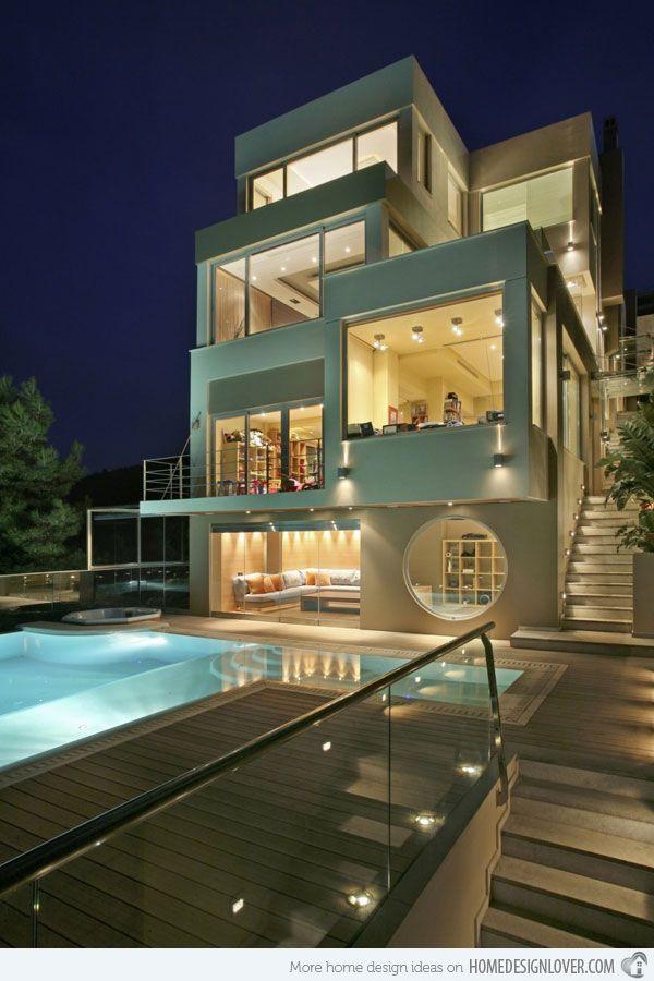 The Futuristic Oikia Panorama Voulas Home in