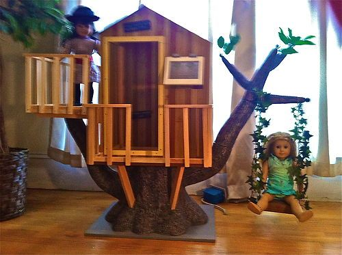 OOAK Swing for American Girl Treehouse