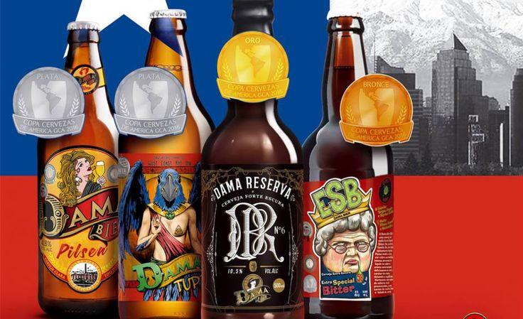 Dama Bier premiada - http://superchefs.com.br/dama-bier-e-premiada-na-copa-cervezas-da-america/ - #Cerveja, #DamaBier, #Noticias, #Piracicaba