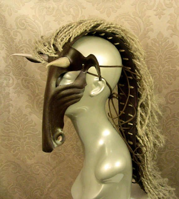 This Leather Pony Mask Demonstrates Stylish Apocalypse Fashion trendhunter.com