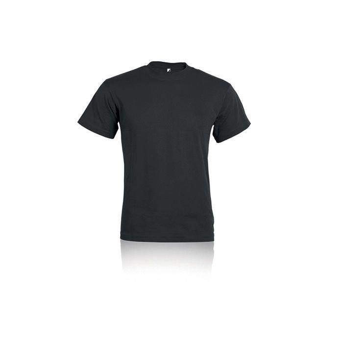 T-shirt ALE 100% Cotone Taglie e Colore nero unisex senza O PERSONALIZZATA