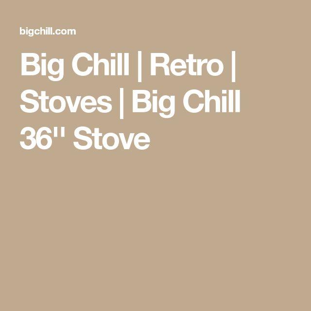 Big Chill   Retro   Stoves   Big Chill 36'' Stove