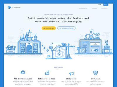 Developer Portal Illustrations