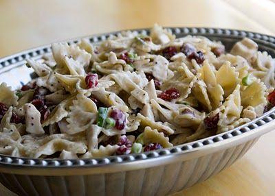 Chicken Poppyseed Pasta Salad