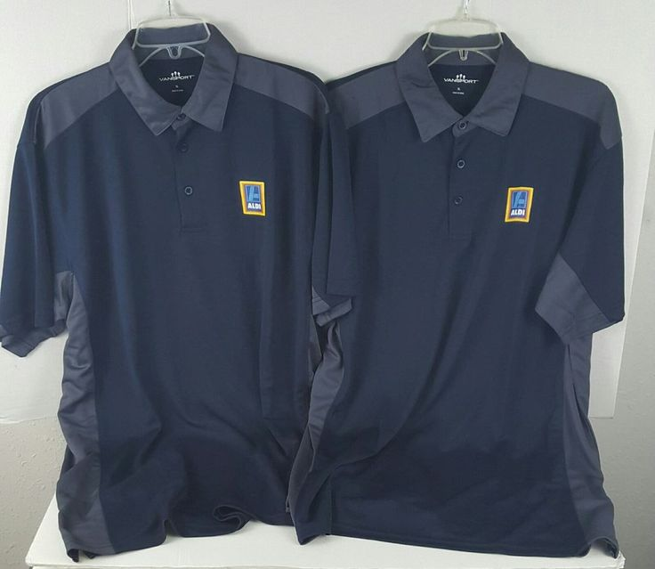 Lot Of 2 Aldi Groceries Employee Issue Work Polo Shirts XL Extra Large new | Clothing, Shoes & Accessories, Men's Clothing, T-Shirts | eBay!