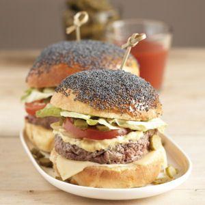 50 recettes de hamburger maison