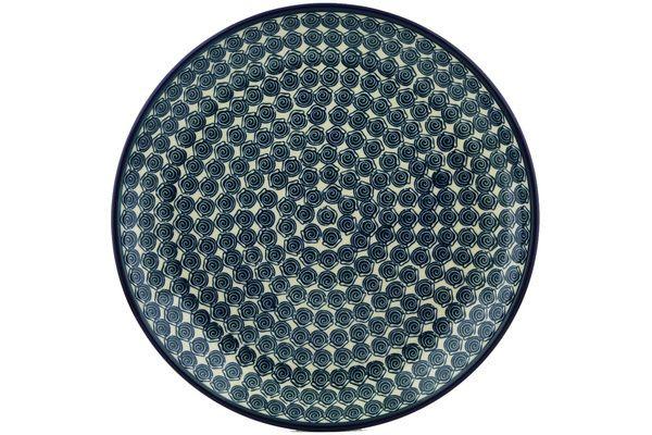 Polish Pottery 13-inch Platter   Boleslawiec Stoneware   Polmedia H3009H