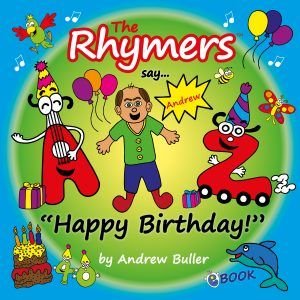 Personalised birthday book from The Rhymers