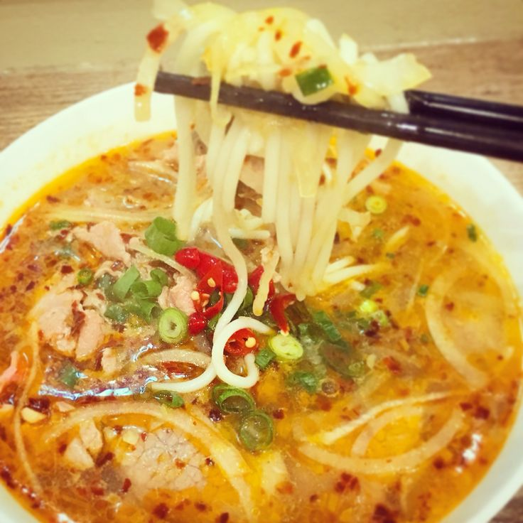 Spicy Huế Noodle Soup