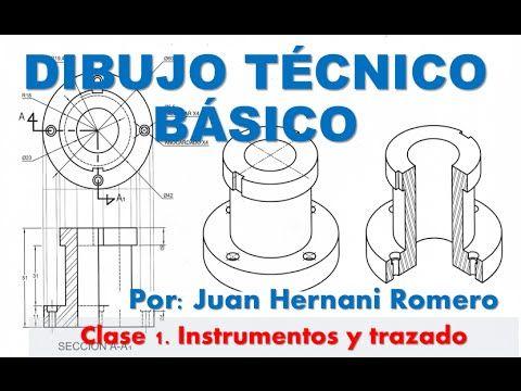 Dibujo Técnico Básico - Clase 1 - Instrumentos - YouTube