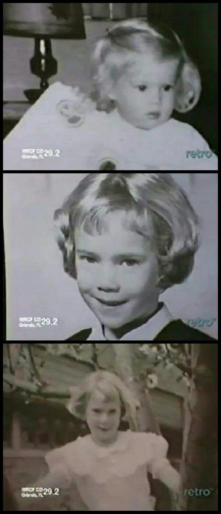 The show used several pictures of Julia Duffy as a little girl in a 1974 episode.