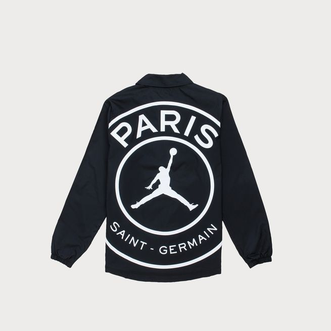 psg x jordan coaches jacket
