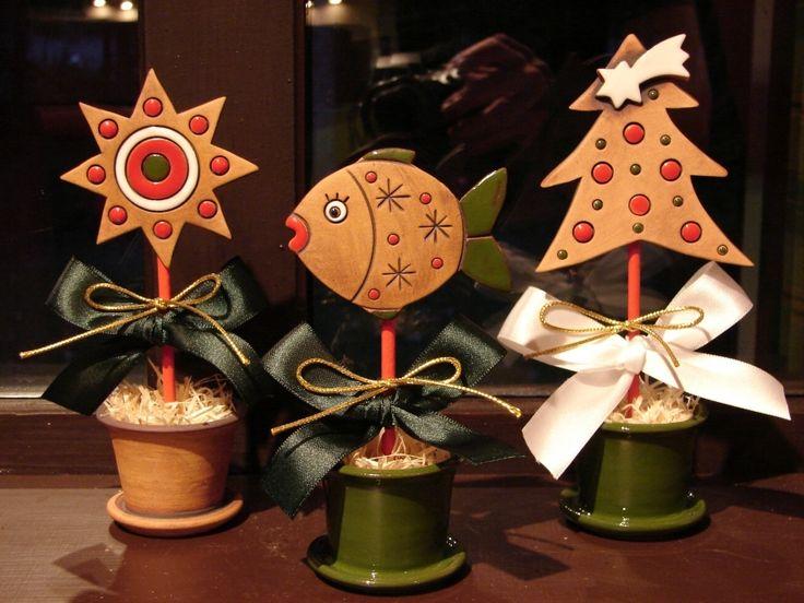 Vánoční keramika   Lesní ateliér Kuba