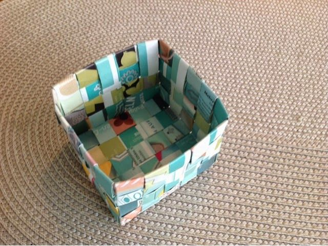 Stampin up Upcycling