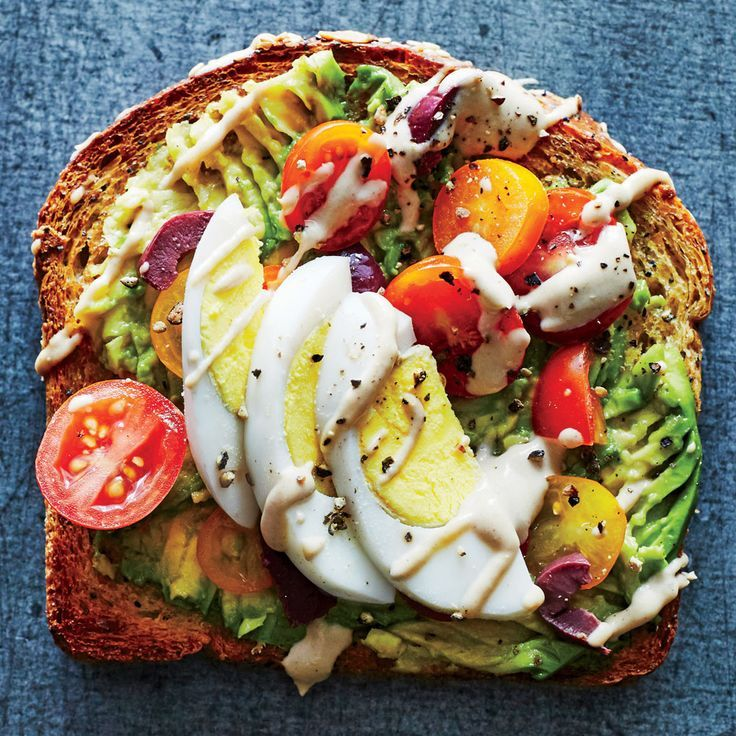 Avo-Tahini Toast - Healthy Lunch Ideas - Cooking Light