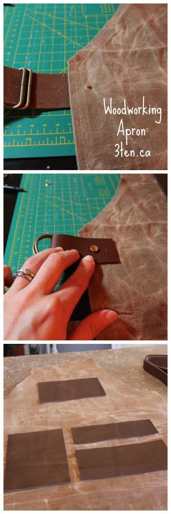 Sewing: Woodworking Apron: 3ten.ca