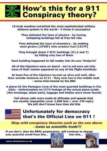 911 Conspiracy Theory Essay Sample