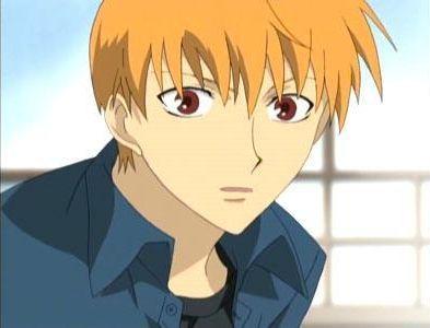 Kyo Sohma, from Fruits Basket. He is SOOOOOO cute..... Kyo and Yuki are now my new crushes!