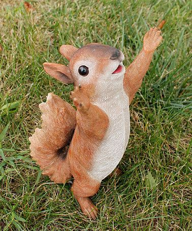Another great find on #zulily! Hold Me Squirrel Statue #zulilyfinds