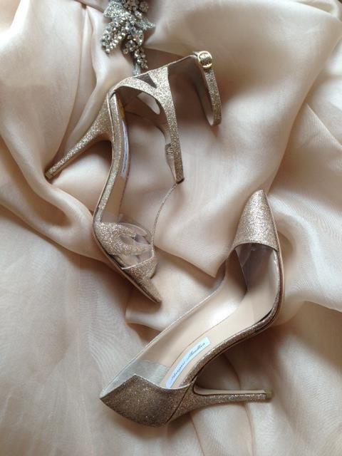 scarpe da sposa Monique Lhuillier