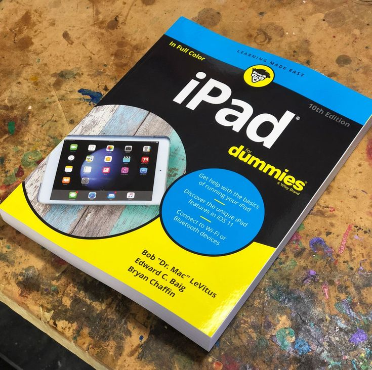 iPad For Dummies Released by Bob LeVitus Ed Baig and Bryan Chaffin